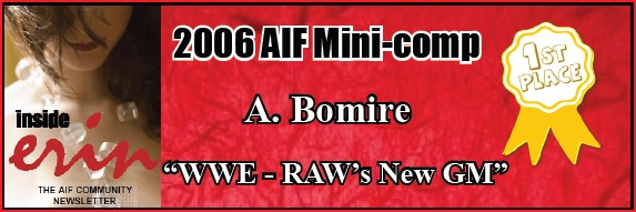 2006 AIF Mini-comp Winner